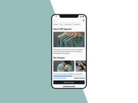 Crowdfunding — Daily UI Challenge #032-2
