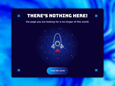 404 Page — Daily UI Challenge #008