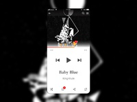 Music Player — Daily UI Challenge #009