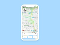 Map — Daily UI Challenge #029