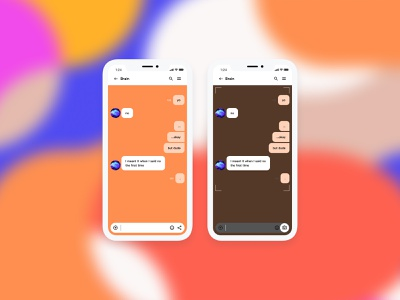 Direct Message — Daily UI Challenge #013-2 dm message share capture error shutdown challenge brain instagram follow user interface minimal idea ux interface daily ui app design dailyui