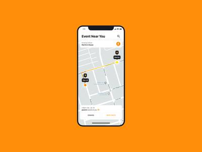 Location Tracker — Daily UI Challenge #020-2