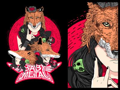 Babymetal - T-shirt