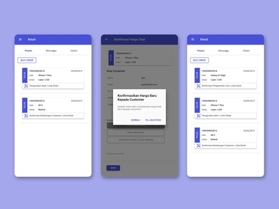 Klikfix App - android application ui/ux design