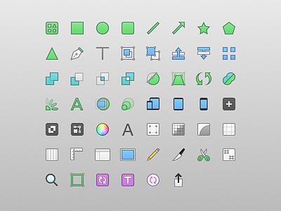 Toolbar Icons sketch 3 sketch icons toolbar mac app bohemian