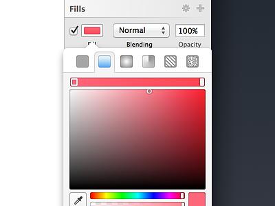 Colour Picker sketch colour picker ui mac os x interface popover