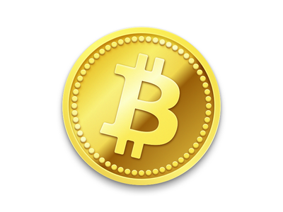 bitcoin icon by christopher downer dribbble