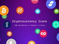 Cryptocurrency Icons Update