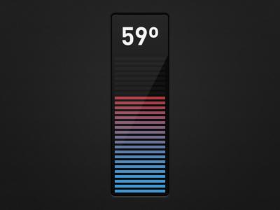 Temperature LCD