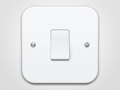 Switch @2x everyday light switch ios icon square white