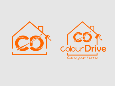 Logo for Colourdrive (A Painting Service Company) v.2