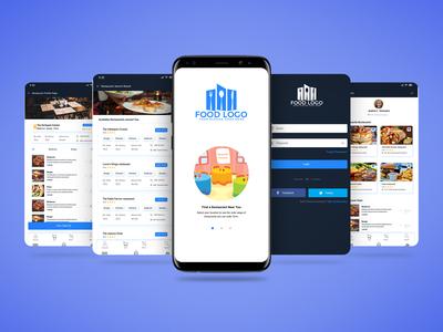 Online Food ordering app UI Design & interaction.