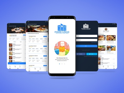 Online Food ordering app UI Design & interaction. web ux ui bishal freepsd psds free psd freebies free multipurpose delivery marketing online order food restaurant user flow visual design user experience user interface interaction apps