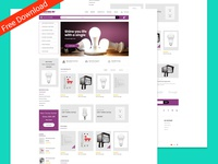 Lightingbd is a redesign for a Corporate e-commerce Company.