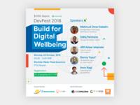 DevFest 2018: Build for Digital Wellbeing (Digital Poster)