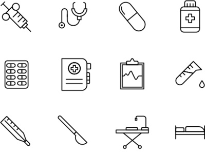 iconsets for a pharmaceutical inventory app