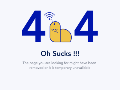 error 404 illustration