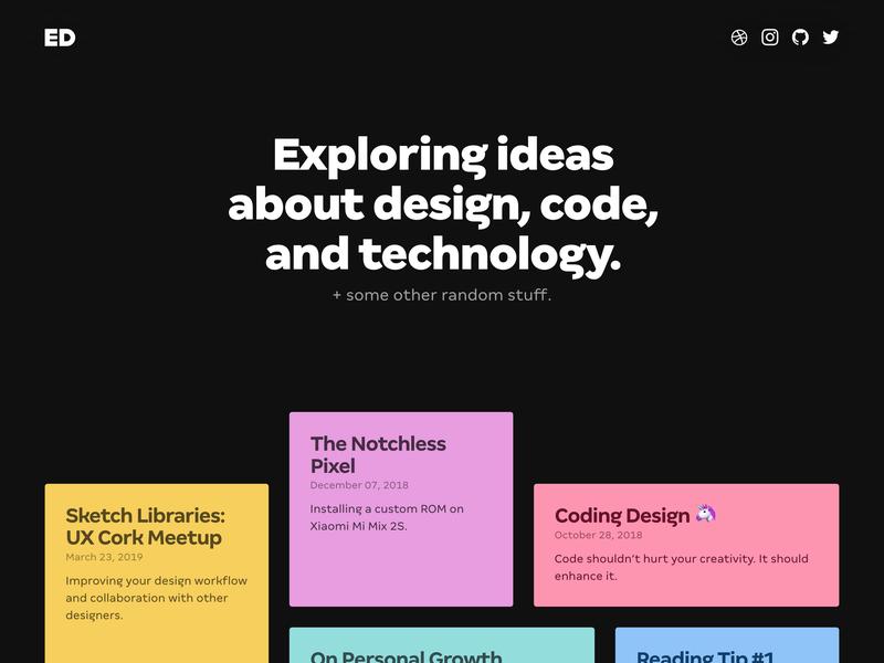 CSS Grid Layout minimal responsive design dark responsive ui animation css grid css grid design blog grid layout