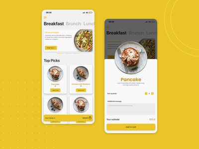 Restaurant App Idea ux research food app restaurant app mobile app product design app design ux design ui design ux uiux branding ui
