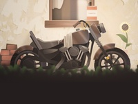OLD 🏍 MOTORBIKE