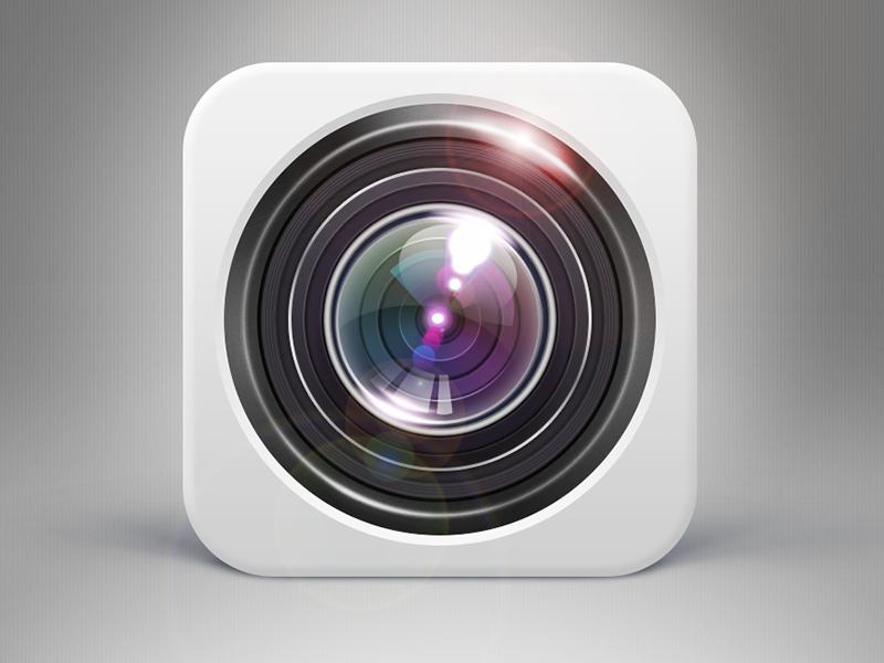 Camera icon se7en camera icon light ios