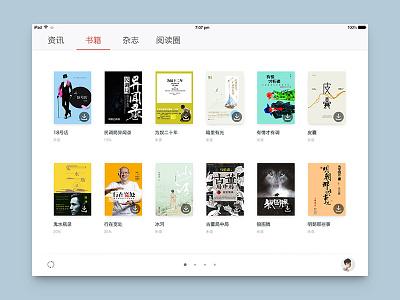 Book dashboard seven ipad reading book download news ios