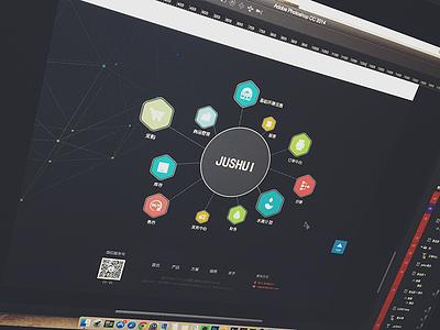 JUSHUI  seven design web