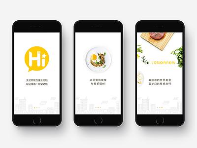 Walkthrough onboarding design ios seven walkthrough app food