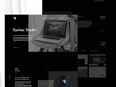 Syntac Studio Redesign Concept