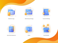 Icon pack for Agency Concept