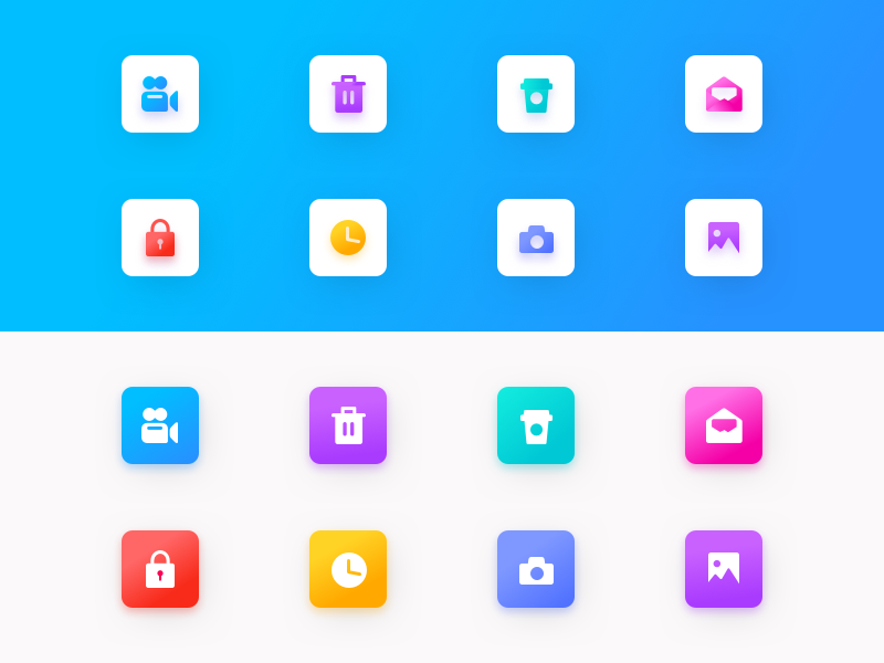 Guicon gradient 1.0 | freebies sketch svg vector freebies icons set icon color design ui trending branding