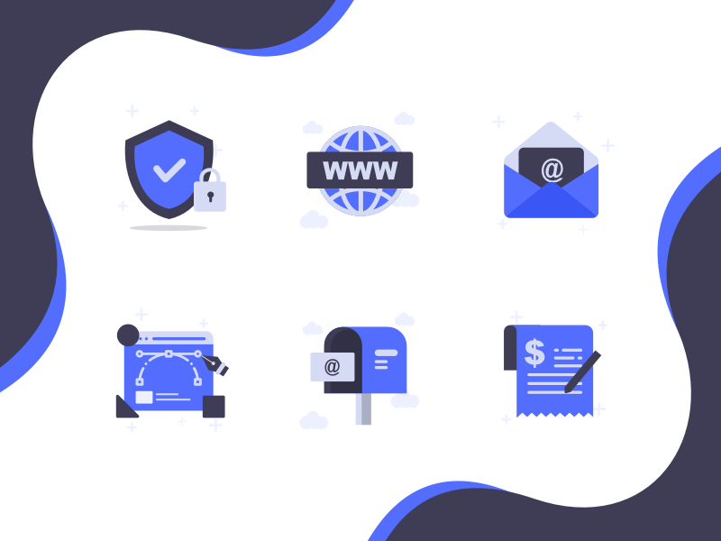Hosting Icon | Guicon medium guicon purple product svg icons icons pack icons design icons set sketch color iconography icon vector design illustration ui trending branding