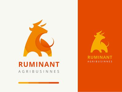Ruminant Agribusinnes Logo brand brand agency sketch explore design ui branding trending logo a day logo