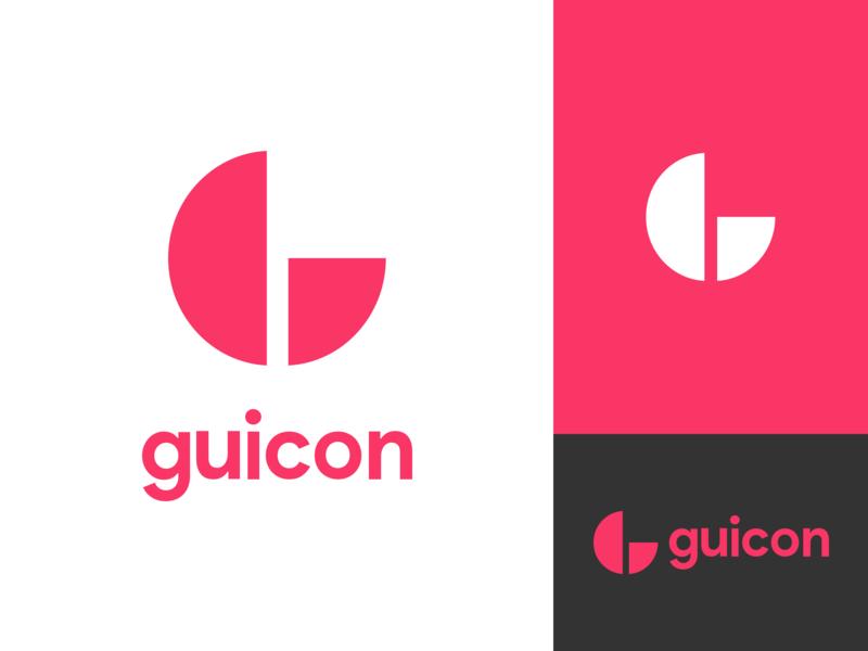Guicon Logo sketch brand and identity brand agency logo design landing trending branding brand