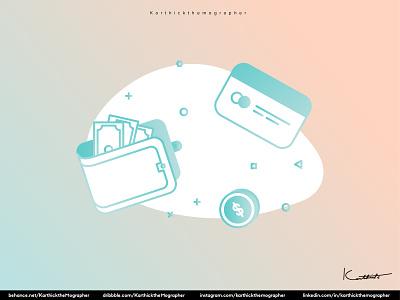 Money Icon ui branding weekend dribbble designing character design design of the day design illustration vector