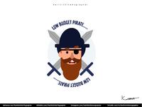Low Budget Pirate.....