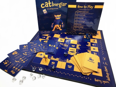 Catburglar Board Game