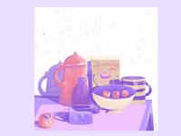 14 week  - stillherestilllife art artwork illustration