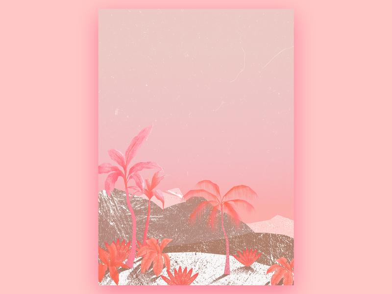 birth of something new jungle artwork art tropical illustration