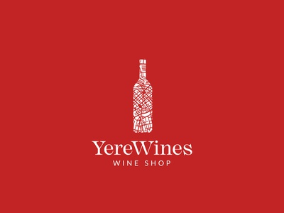 YereWines Wine Shop branding logo design