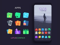 Lotus Icon Pack Apps Icons 2