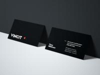 Vincit California Business Cards