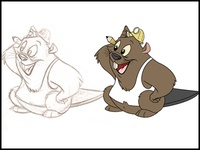 Beaver Character