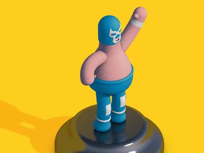 BlueDemon Luchador
