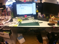 Desk, March 2013