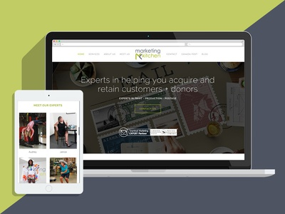 Marketing Kitchen website refresh