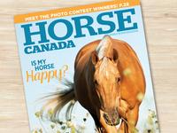 Logo Design for Horse Canada Magazine