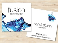 Logo Design for Fusion Artists