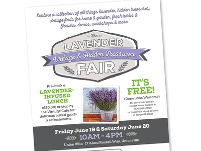 Lavender Fair Poster
