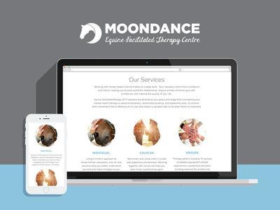 Branding + Website Design for Moondance